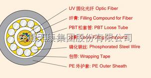 GYXTY-8B1光纤电缆