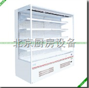 便利店風幕柜|便利店冷柜設備|水果風幕柜|立風展示柜