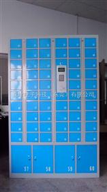 50门手机柜工厂员工手机柜,无尘车间手机柜,斜顶式手机柜,员工手机柜