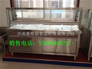 供应厨房设备不锈钢10格保温售饭台