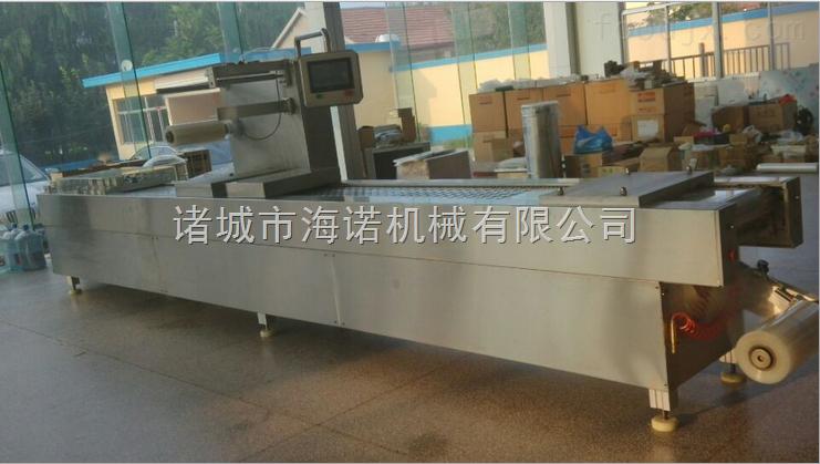 420膨化小米全自动真空包装机山东海诺拉伸膜厂家