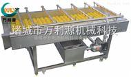 土豆气泡清洗机_土豆高压水喷淋毛辊清洗机_土豆滚筒清洗机