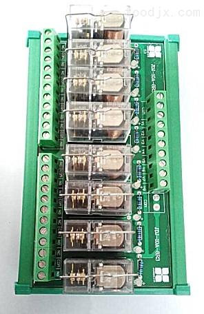 jdj-10a-8r3 8路继电器模组/plc输出放大板