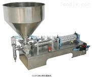 GFAQ气动半自动膏体罐装机