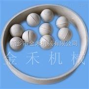 振动筛分机常用的清网装置弹跳球