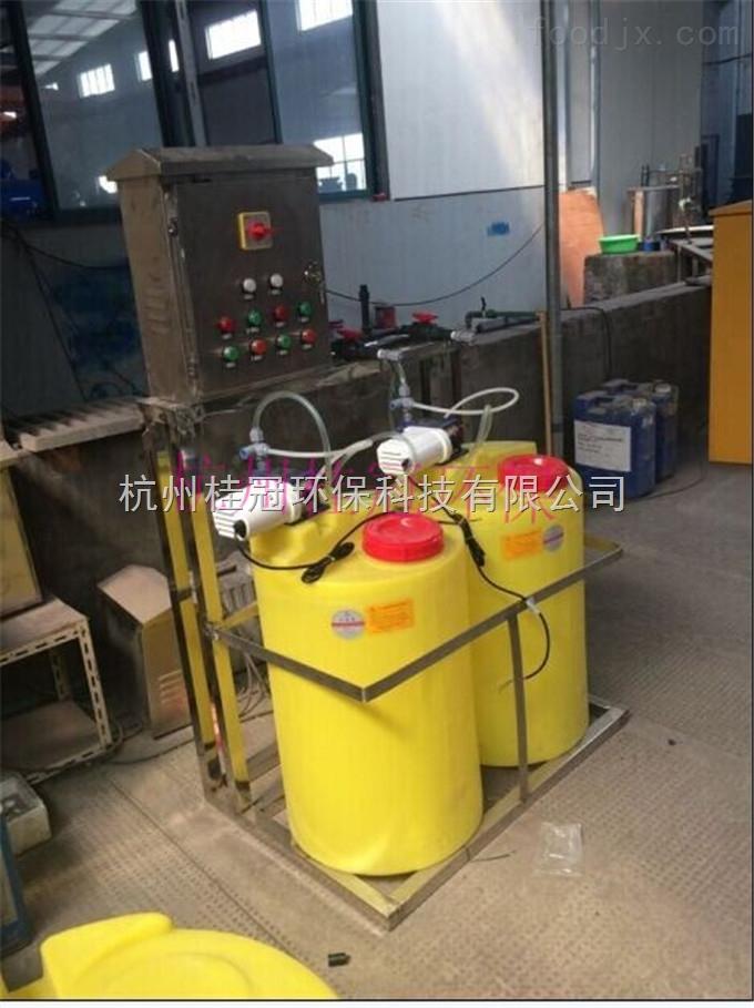 蒸汽锅炉循环水加药装置