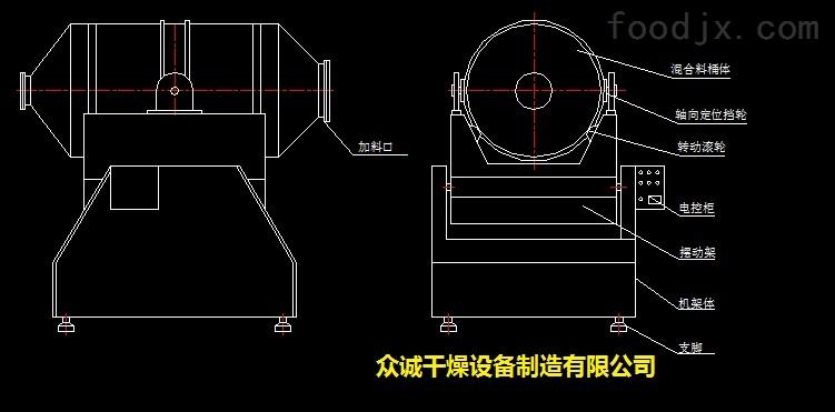 手绘二维工程图