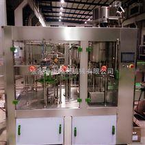 含气自动玻璃瓶饮料灌装生产线