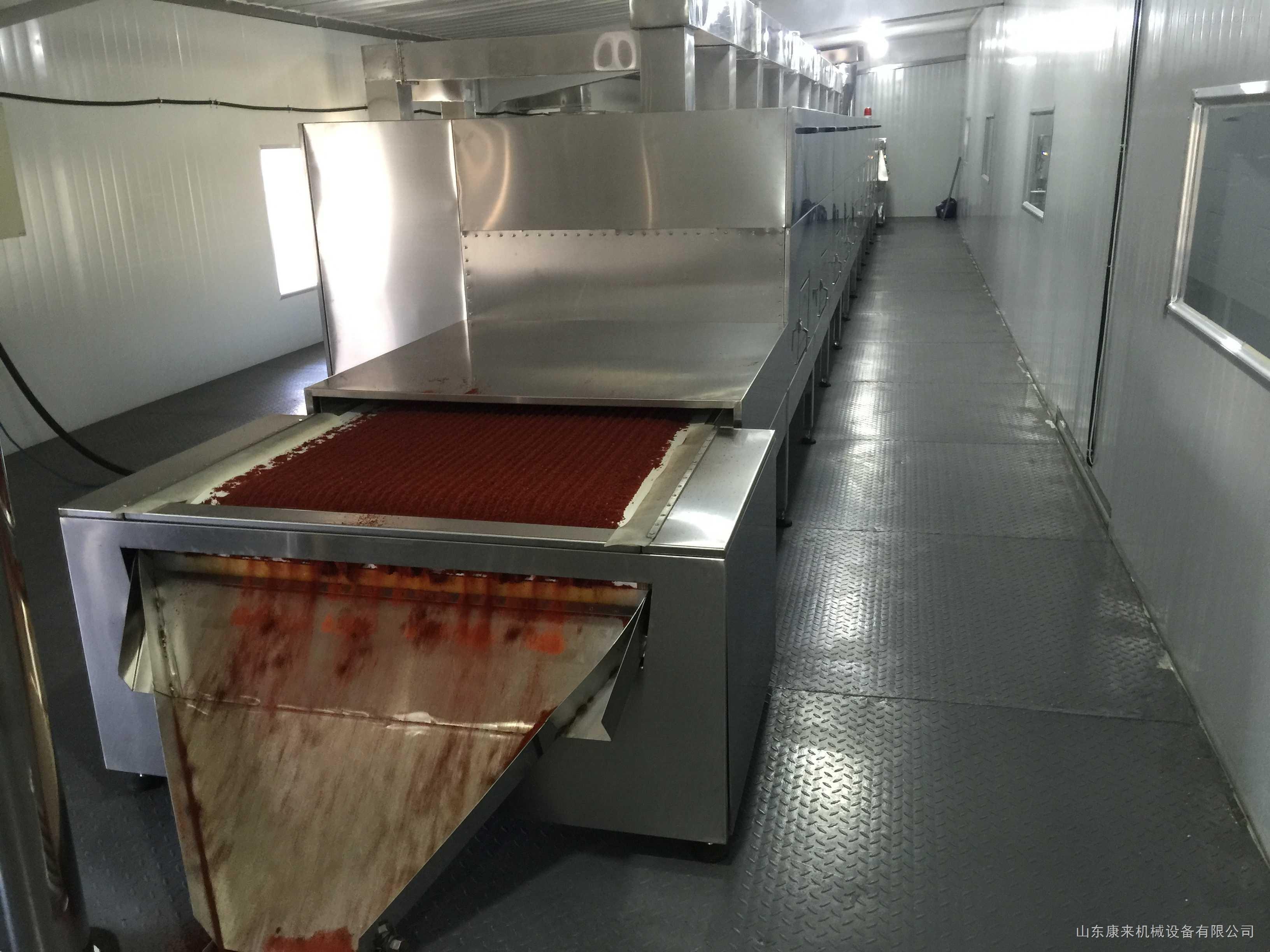 2019年環保烘干殺菌隧道設備