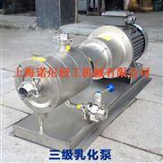 高剪切乳化泵构造
