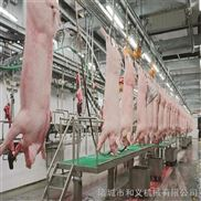 猪牛羊屠宰设备 屠宰加工生产线 胴体加工输送线 猪牛羊输送线