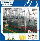 全自动玻璃瓶果汁饮料生产线