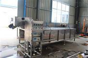 工厂用连续式小龙虾超声波气泡清洗机厂家