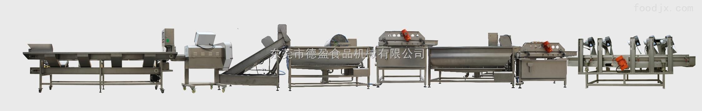 DY-L1-德盈大白菜加工生产线
