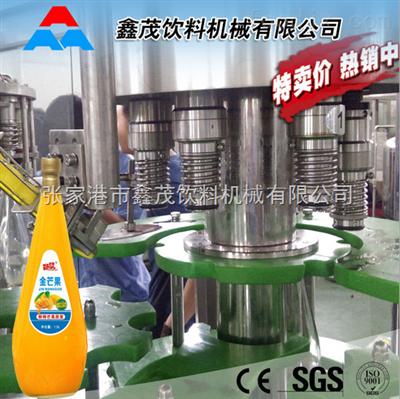 RCGF玻璃瓶果汁饮料灌装生产线