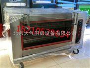 臥式烤地瓜機器|臥式電烤雞排機器|旋轉烤雞骨架子機|臥式烤雞腿機