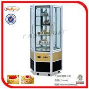 杰冠+六门面玻璃展示冷柜/蛋糕柜/保鲜柜/冰淇淋展示柜 冰柜 冷藏展示
