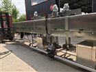 HJ-600养鸡场漏粪板一体式洗筐机