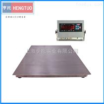 DCS-HT-D2吨防水不锈钢电子地磅 3T地磅