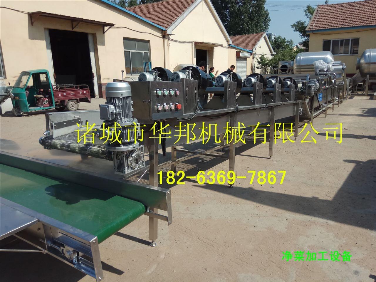 供应净菜加工设备 蔬菜清洗机 支持加工定制18263697867