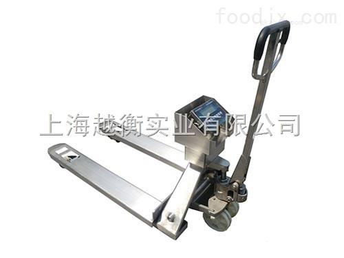 手动液压带打印防爆型电子叉车秤