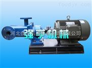 杭州强亨3GB保温螺杆润滑泵压力脉动小流量稳定