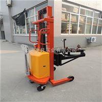 300kg油桶倾倒秤 电动升降带翻转油桶倒料电子秤