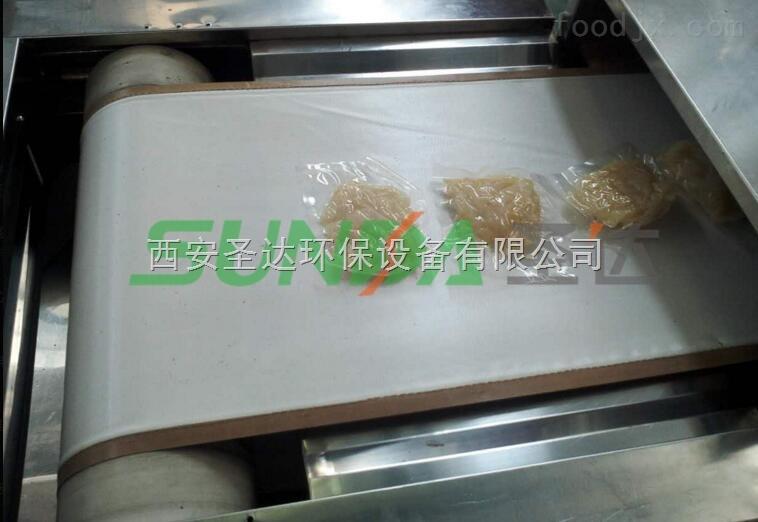 藜麦粉微波熟化杀 菌设备