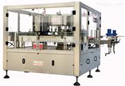 矿泉水专用回转式盘标热熔胶贴标机