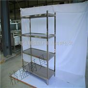 广州JS-1800板式四层存放架代加工   不锈钢厨具设备