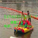 公园深水区围栏浮筒 空心穿绳水面拦浮漂
