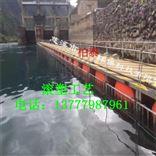 水电站进水口搭建浮筒 圆柱形滚塑浮片