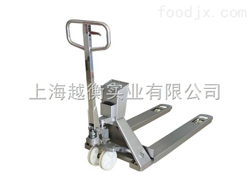 不锈钢叉车电子城 2吨超市理货用电子叉车秤价格