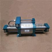 深圳嘉力JGD 双头大流量 气驱气体增压泵 气气增压泵