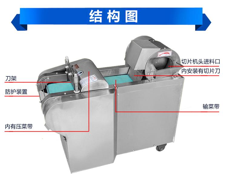 电动灯饰切菜机小型创业切菜机商用全自动蔬各样配件设备图片